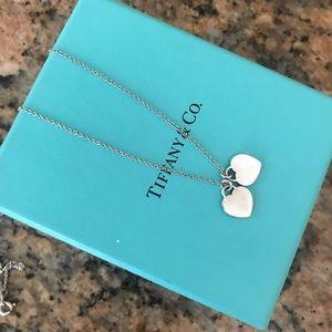 Tiffany & Co. Jewelry - Return To Tiffany Mini Double Heart Tag Pendant